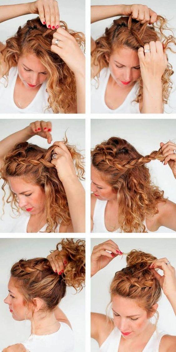 fryzury z lokami