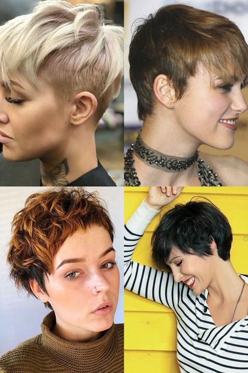 Krótkie Fryzury 16 Pomysłów Na Bardzo Krótkie Włosy