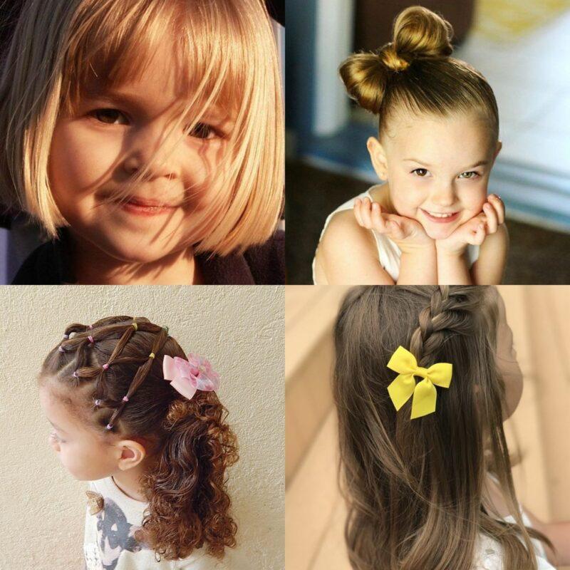 15 Słodkich Fryzur Dla Małych Dziewczynek